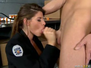 Shagging The Hottest Cop Ever Madelyn Marie In Police Station