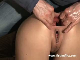 She loves anal fisting deep and hard