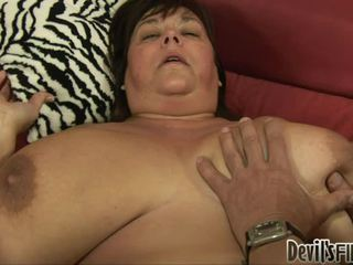 Bbw Receives Lucky And Enjoys A Good Hard Weenie In Her Corpulent Pussy