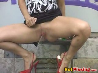 Dizzy Legal Age Teenager Pissing1