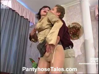 Great Collection Of Stocking Sex Vids From Pantyhose Tales