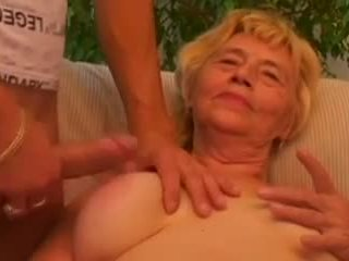 Horny Granny Gets That Young Cock