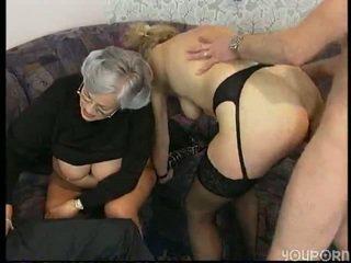Grandma In An Orgy