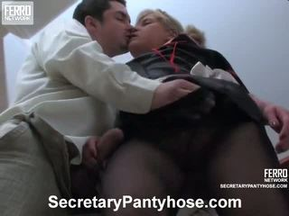 Benett Adam Office Pantyhose Sex Movie