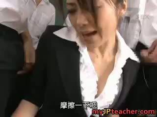 Maki Houjo Hot Asian Teacher Enjoys Sex Part1