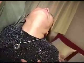 Japanese fantastic granny likes to be fucked Video