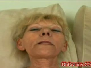 Slutty Blonde Granny