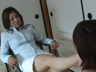 Asian foot slave
