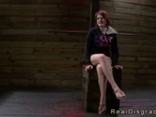Huge Tits Redhead Velma DeArmond In Bdsm Pussy And Throat