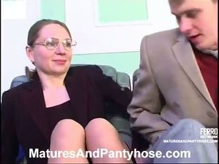 Mix Of Mature Porn Clips By Matures And Pantyhose