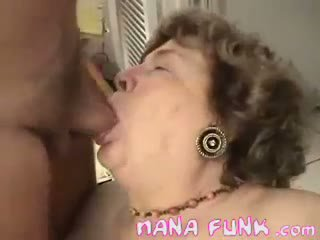 Dirty Cock For A Horny Old Grandma
