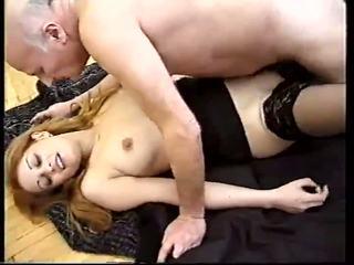 Old men fucks a younger women