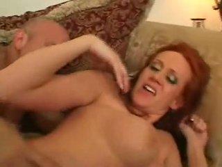 Redheaded Milf Bailey Odare Loving Powerful Jock Slamming Hot Pussy