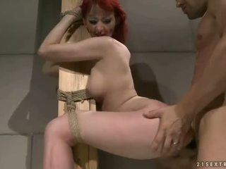 Sex slave gets punished and anal fucked