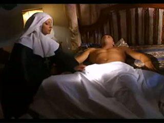 Nun Maintains A Sick Person