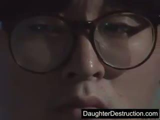 Cute Japanese Japanese Daughter Fucked Hard