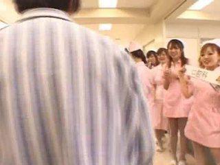 AsIan Nurses In A Hot Team Fuck