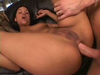 Sexually Excited Wench Courtney Devine Spreads Her Plump Ass Getting Cock Rammed Right Up