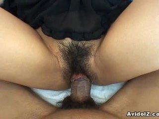 Momo Jyuna Sexy Unshaved Pussy Fuck
