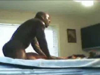 Huge black guy fucking her hard Video