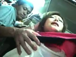 Young Girl Groped And Used In A Train