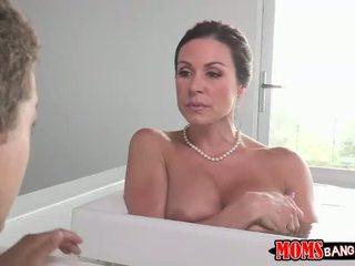 Busty stepmom Kendra caught masturbating