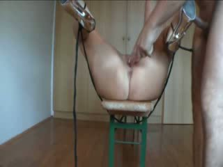 Amateur Is Tied Down And Ass Fucked