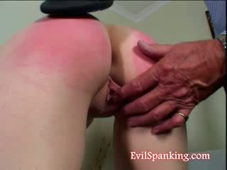 Lusty doll butt Beating