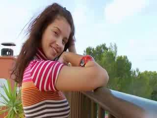 Juicy boobies and huge ebony Dildo