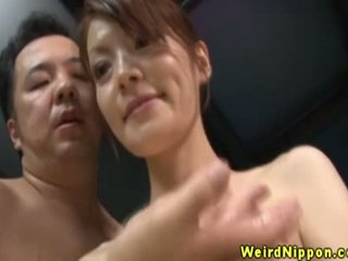 Submissive Oriental Doing Whats Shes Told