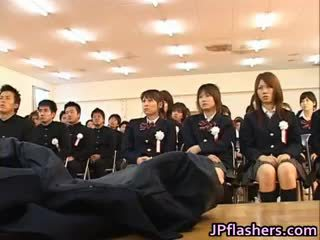 Japanese Babe During Graduation