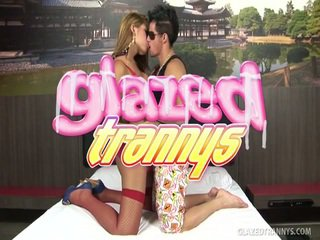 Astounding Transsexual Dame Goddess Brenda Lohan Is So Making Love Nice