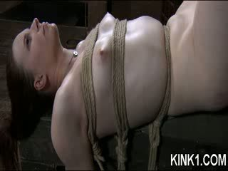 Hot doll follows the orders she is given quickly and too the letter