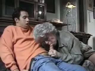 Old Lady Loves Big Cocks