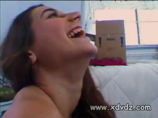 Cute Teen Jackie Ashe Gets So Horny Testing Out A Sybian Machine