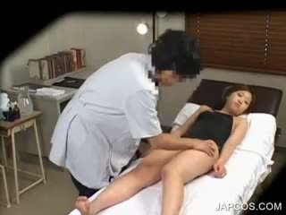 Asian Charmer Getting Tits Massaged