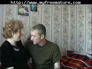 Russian Mom Son mature mature porn granny old cumshots cumshot