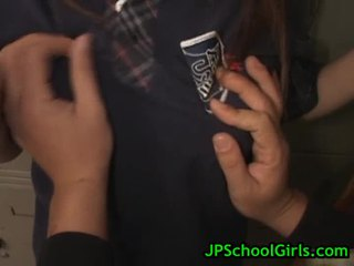 SAya Ueto Schoolgirl Acquires Screwed