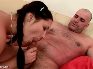 Grandpas and Young Girls having raunchy sex