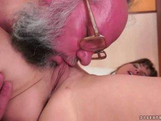 Old Farts vs Teen Girls having sex