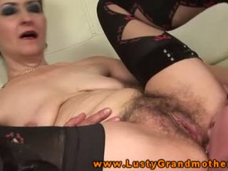 Fetish granny pussylicked and fucked