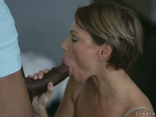 Beautiful Euro Milf Szilvia Lauren taking fat cock