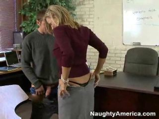 Nasty Teacher Seduces Her Students
