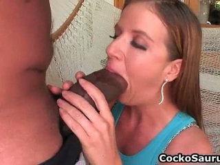 Kaylynn Kage Sucking Some Big Chocolate