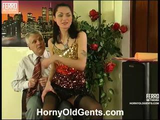 Emmie And Caspar Angel And Oldman Action