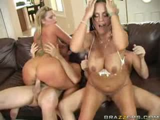 Brazzers - Hot sluts trade there husbands for t...