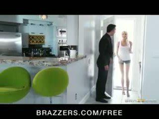Incredibly HOT blonde teen seduces her older neighbor