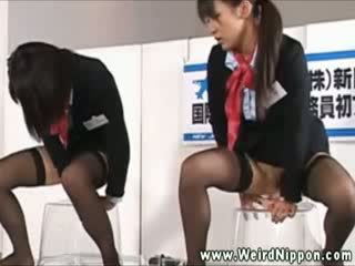 These asian sluts compete in this Hooker competition in asia