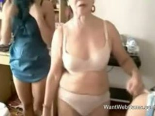 Slutty Granny With Teen Girls