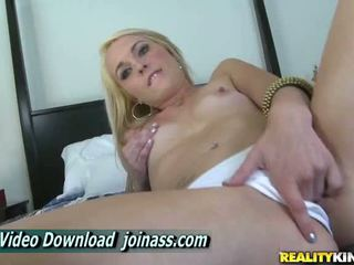 Ashley Stone Blonde Masturbation Pussy Only This Orgasm